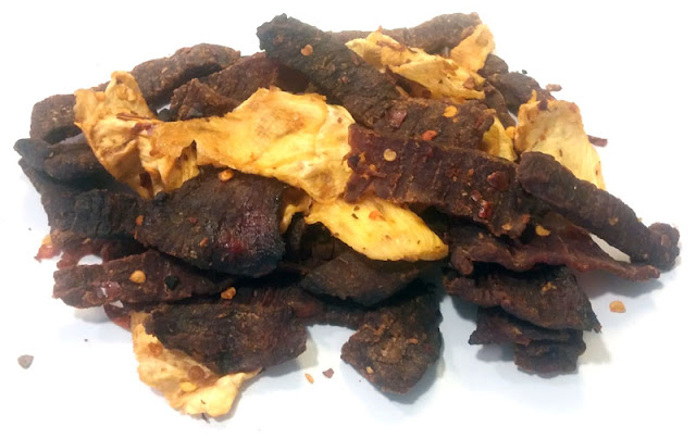 spicy pineapple jerky