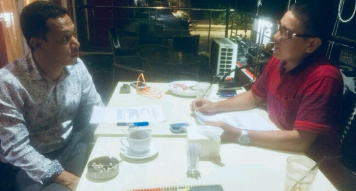 Mahasiswa S3 di Jawa Jadikan Arif Saleh Narasumber di Penelitian Disertasi
