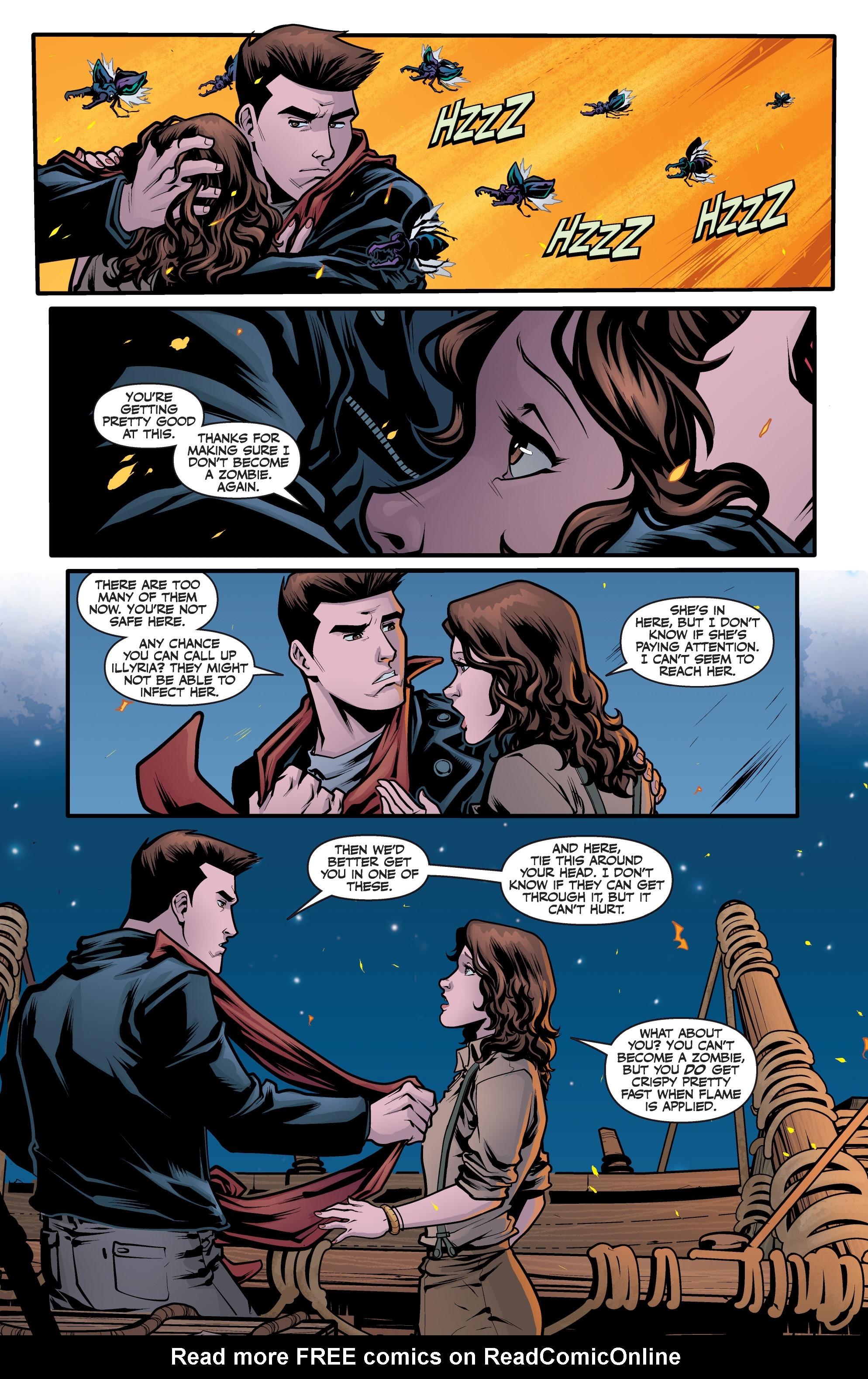 Read online Angel Season 11 comic -  Issue #6 - 21