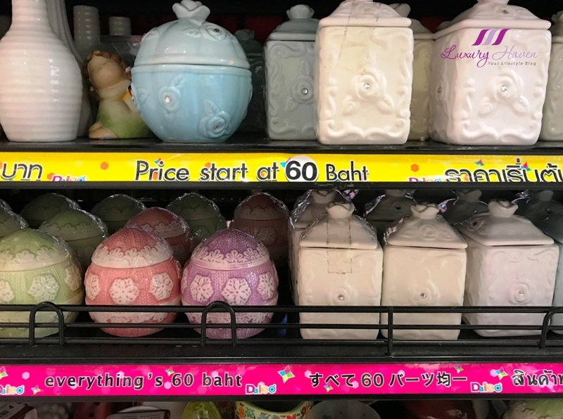 siam square one bangkok daiso porcelain wares