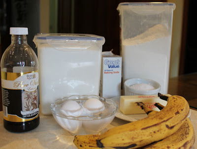 banana bread ingredients