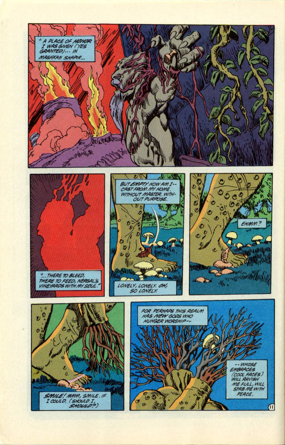 Swamp Thing (1982) Issue #99 #107 - English 12