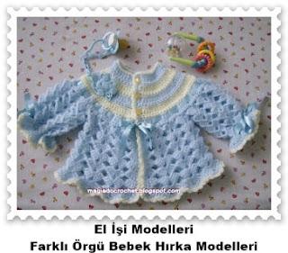 Örgü Bebek Hırka Modelleri 10