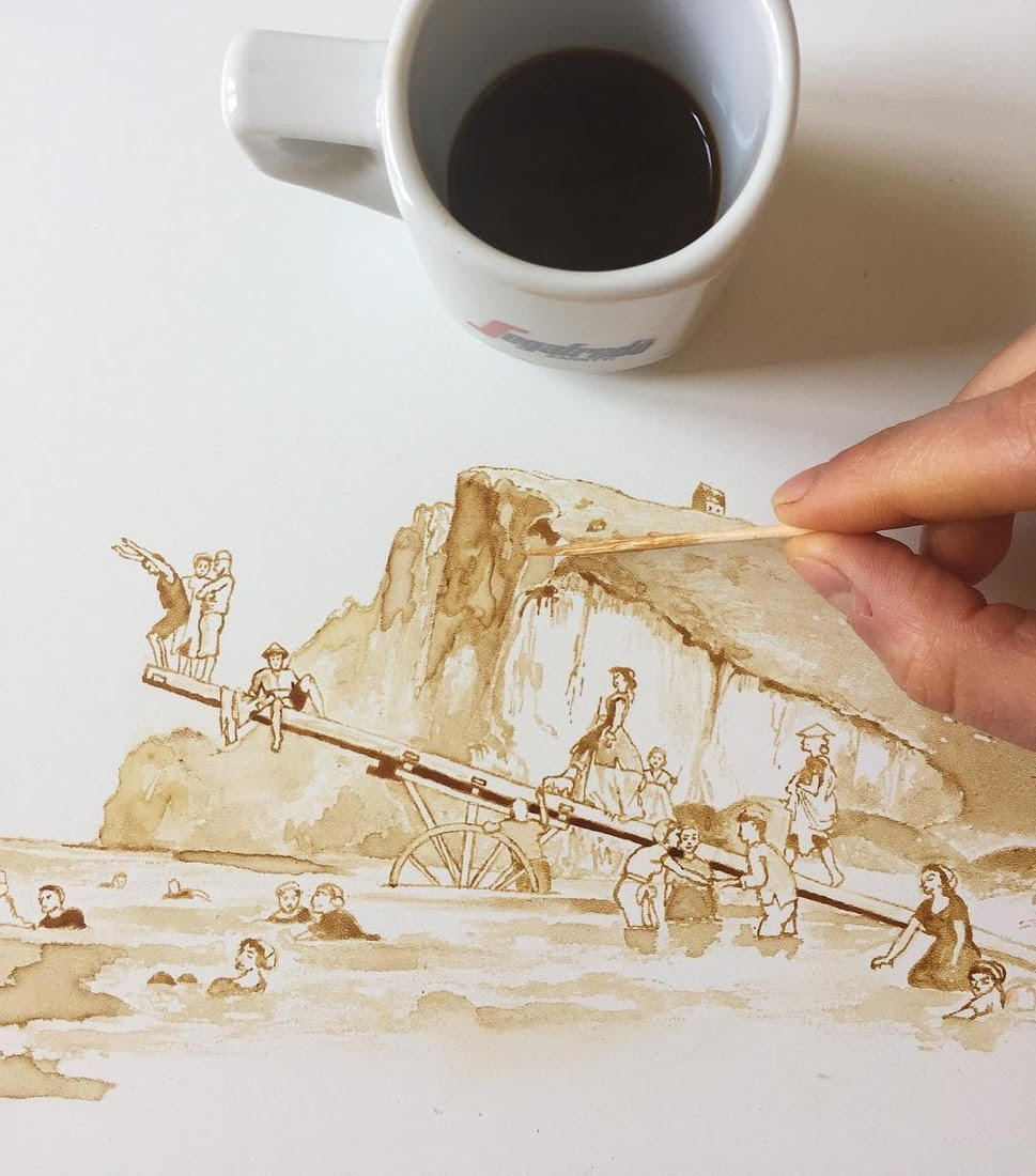 01-Behind-the-Scenes-Giulia-Bernardelli-Coffee-Cup-Paintings-or-Drawings-www-designstack-co