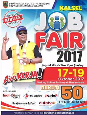 Kalsel Job Fair 2017