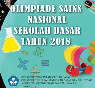 Soal OSN SD tahun 2018