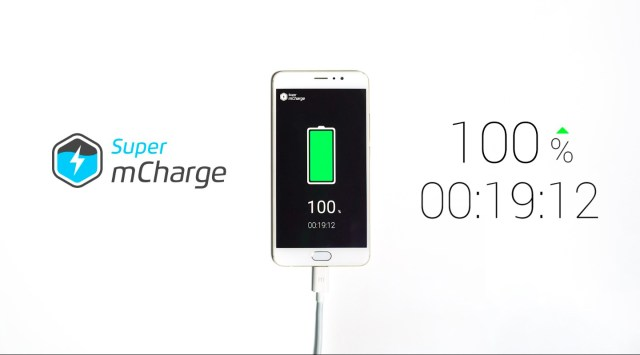 Meizu unveils Super mCharge that fully charges a 3000mAh battery in 20 mins; Meizu aims to improve the charge time to 6 mins in future