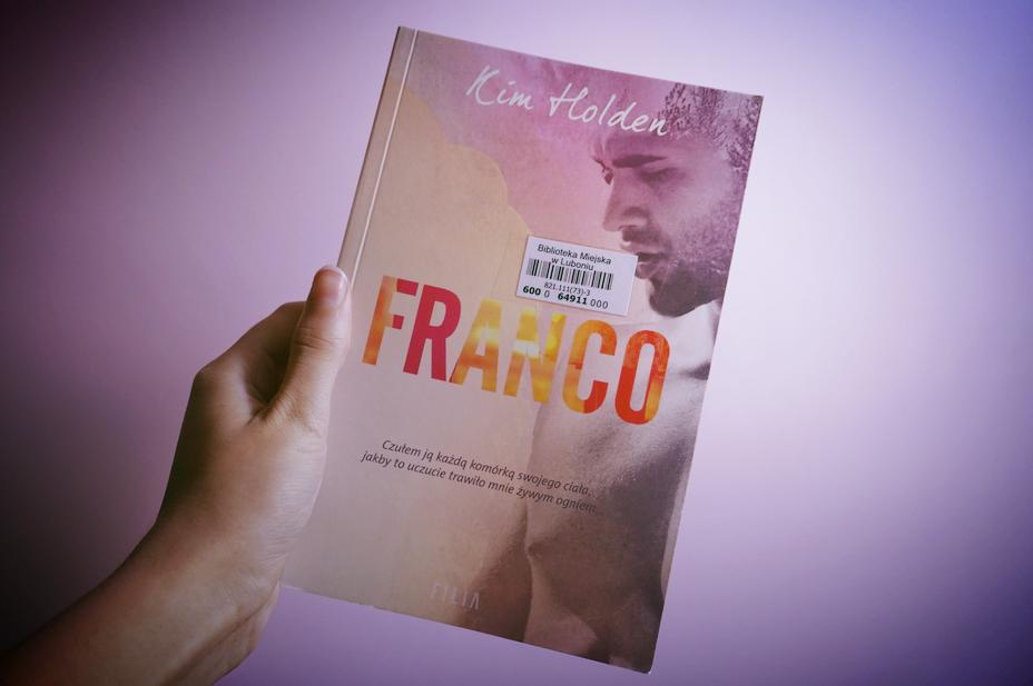 Niezwykle seksowna powieść ~ Franco – Kim Holden || RECENZJA