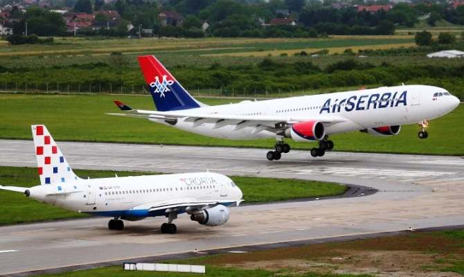 Avionske Karte Air Serbia.Croatia Airlines And Air Serbia Plan For 2018