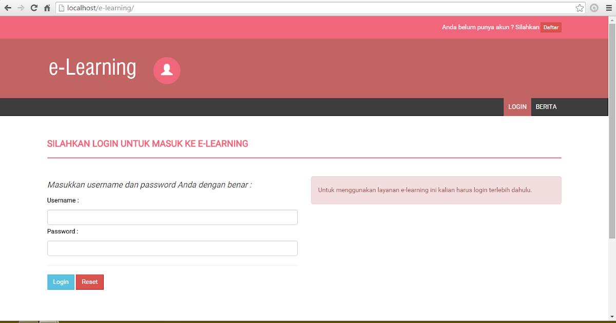Source Code Aplikasi E Learning Ujian Online Soal Acak Responsive Yukcoding