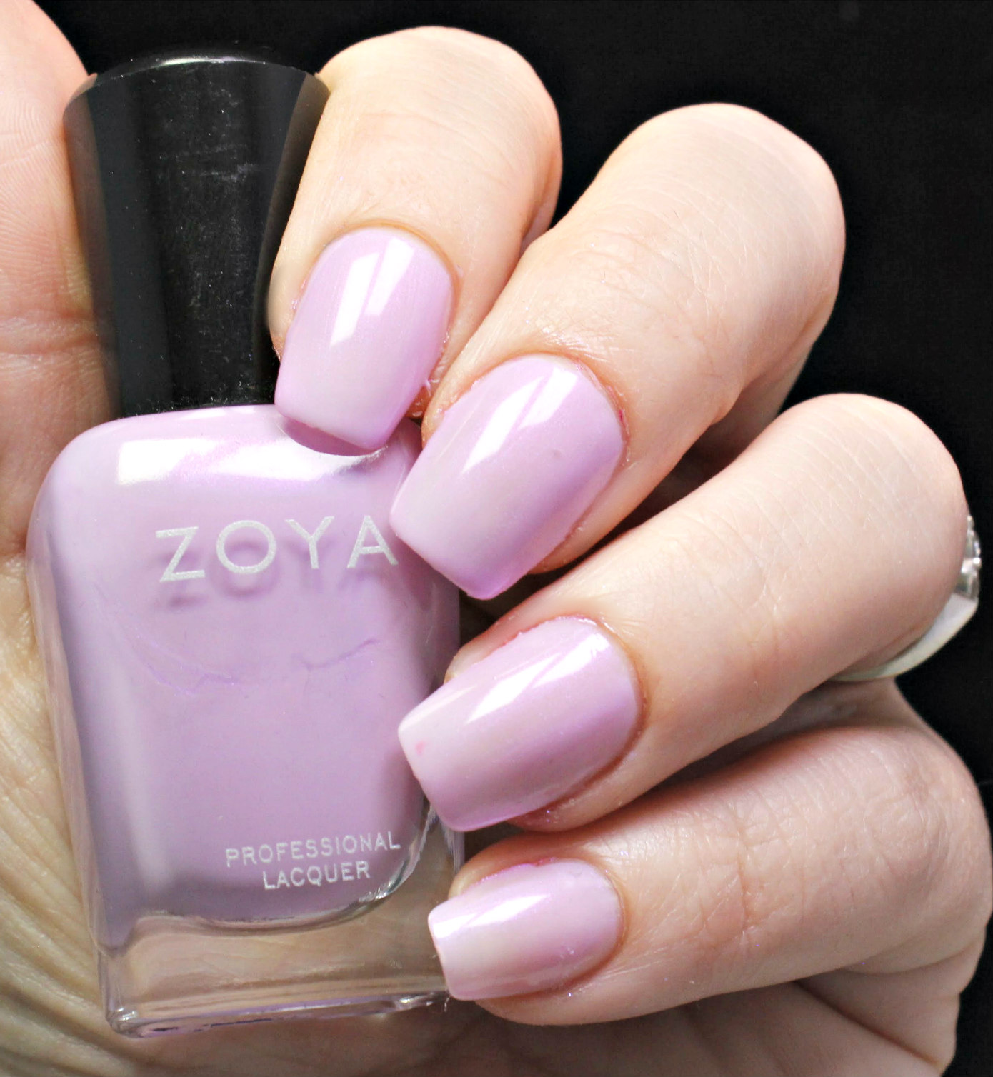 Join Me In Looking At Thrive From Zoya Smashbox Photo Bombshell 5 Piece Color Collection Did Add A Lavender Into This But Not Without Some Sass Haruko Has Shimmer Throughout The Too