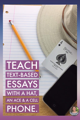 Help middle school struggling writers with visuals and mnemonics!  #teaching #essays