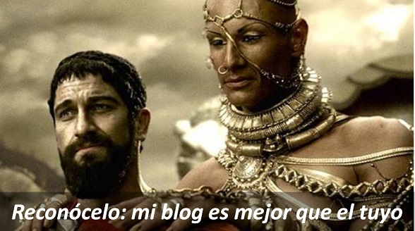 Leonidas de Esparta prefiere Blogger sobre Wix