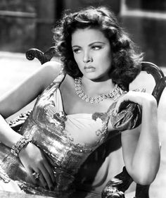 the hollywood great that was gene tierney