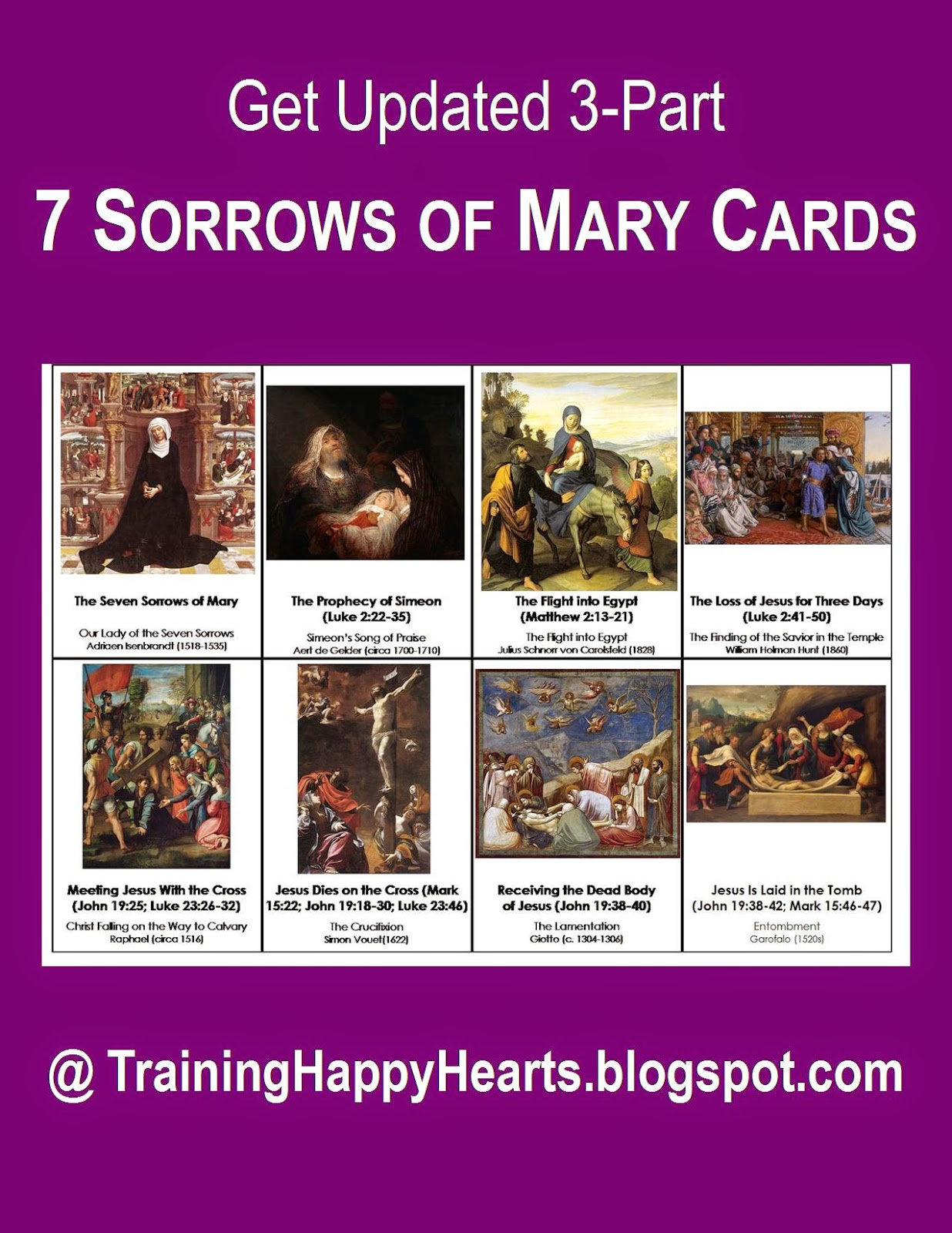 http://traininghappyhearts.blogspot.com/2014/09/free-printable-7-sorrows-of-mary-cards.html