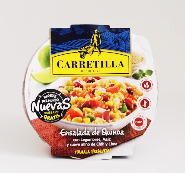 disfrutabox junio ensalada de quinoa carretilla