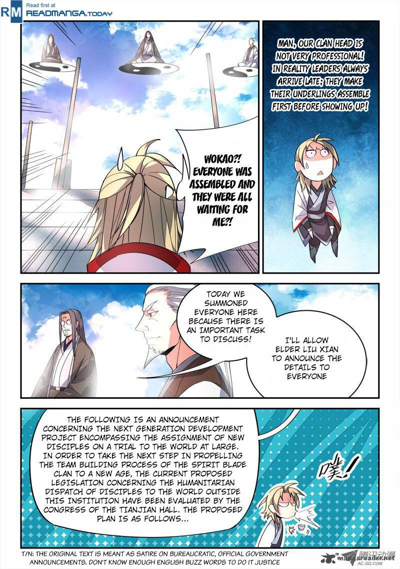 Spirit Blade Mountain - Chapter 82