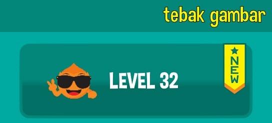 jawaban tebak gambar level 32