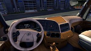 Rustic interior for Mercedes