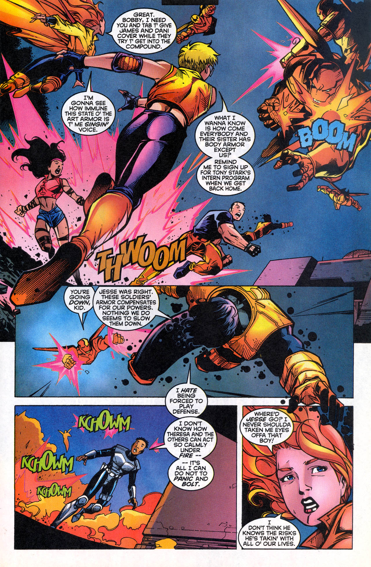 Read online X-Force (1991) comic -  Issue #82 - 22