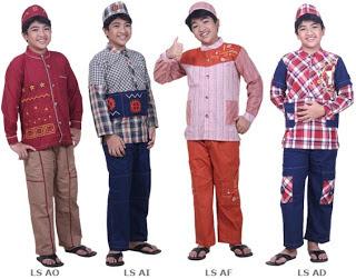 Model Baju Muslim Anak Laki Laki