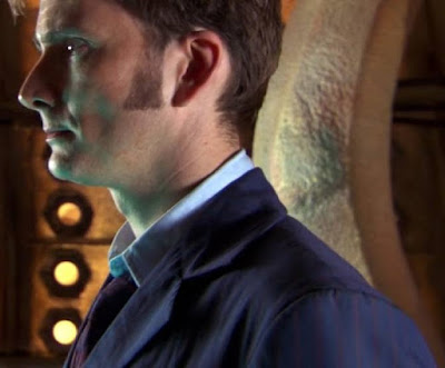 10th Doctor blue suit sleeves