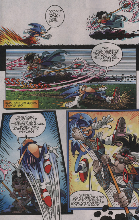 Read online Sonic The Hedgehog comic -  Issue #204 - 5