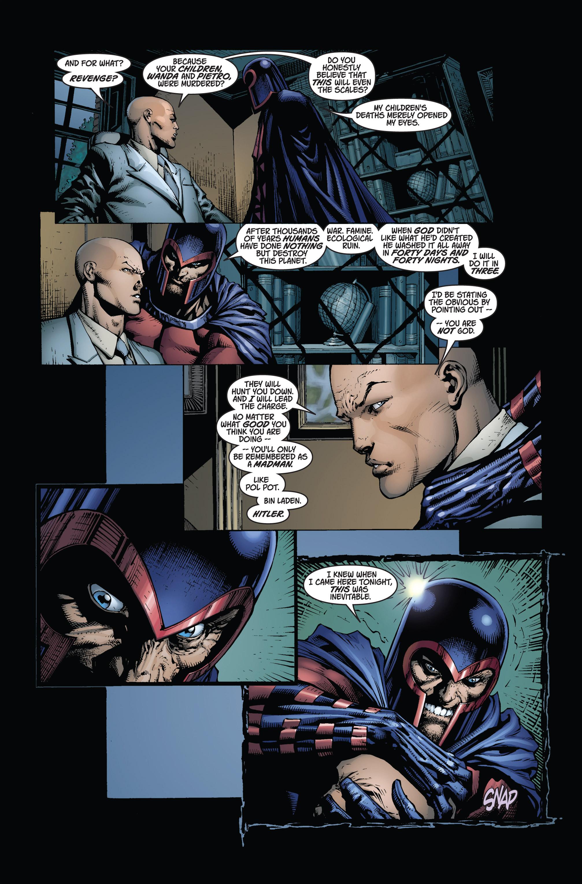 Read online Ultimatum comic -  Issue #2 - 23