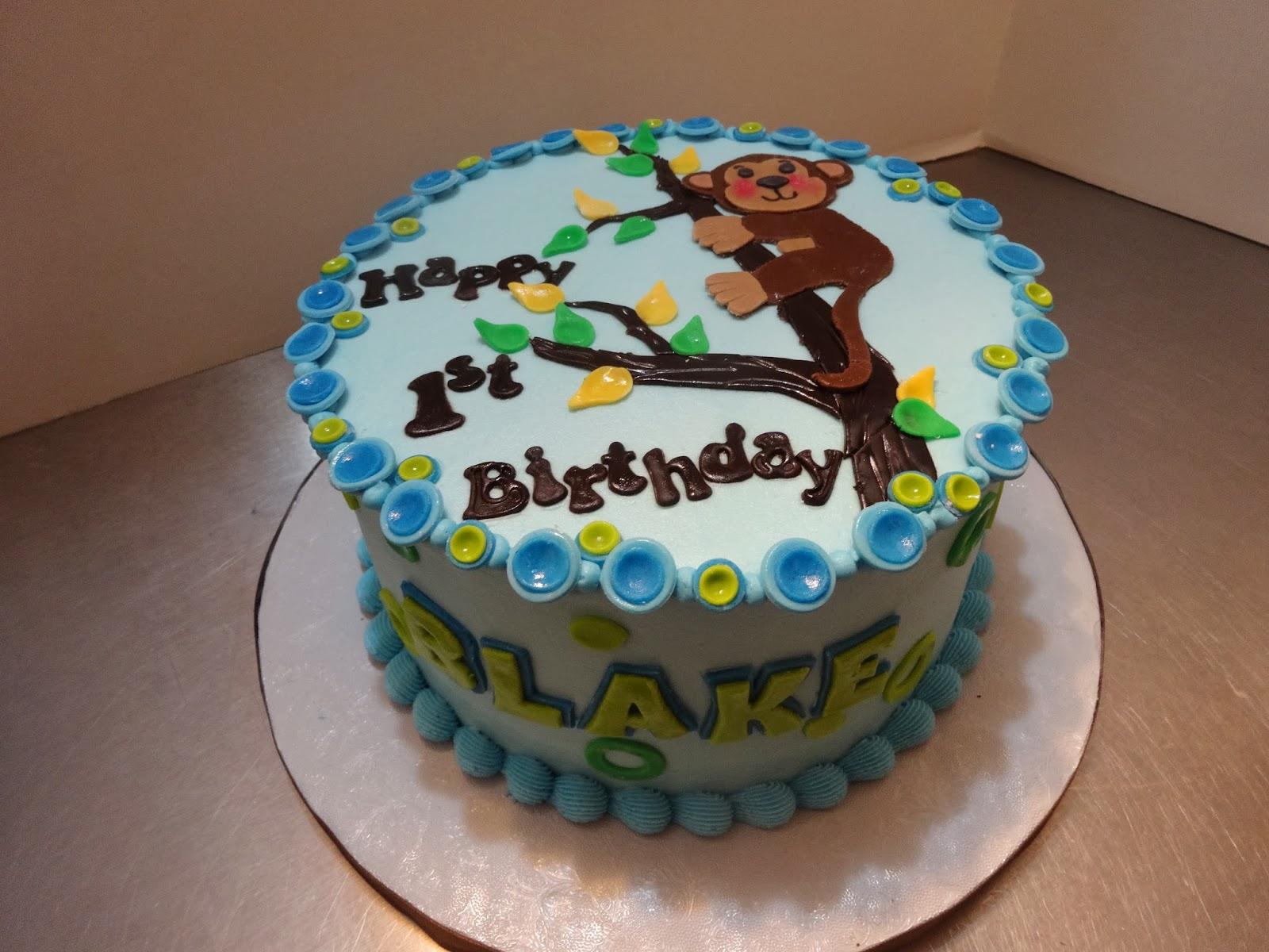 Cakes By Paula Happy 1st Birthday Blake With Matching