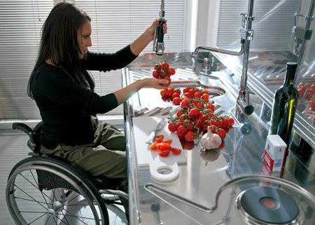 Meble Do Kuchni Kuchnia Przystosowana Dla Osób Na Wózkach