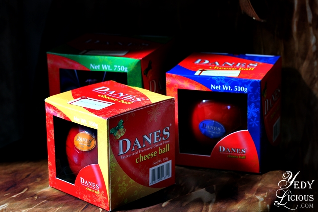 Different Sizes of Dames Cheese Ball