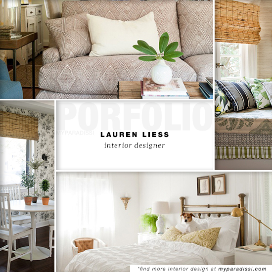 Lauren Liess Interior Designer
