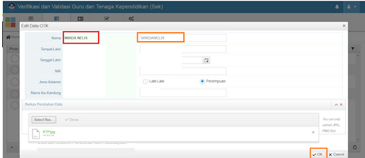 Geveducation:  Pengenalan Fungsi Fitur-fitur Tersedia di Verval PTK
