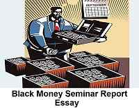black money seminar report