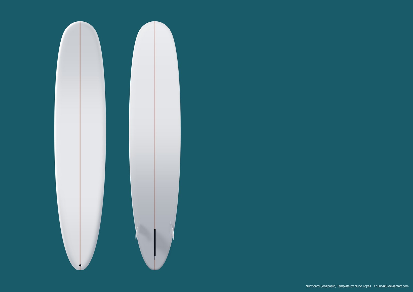 Psd files free download surfboards surfboard templates for Making a surfboard template