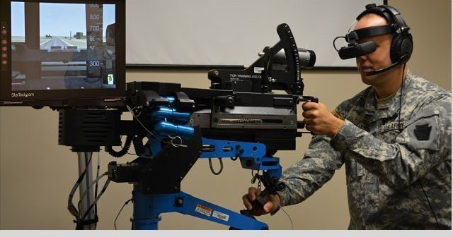 U S  Army uses individual reality trainer weapon simulator to train