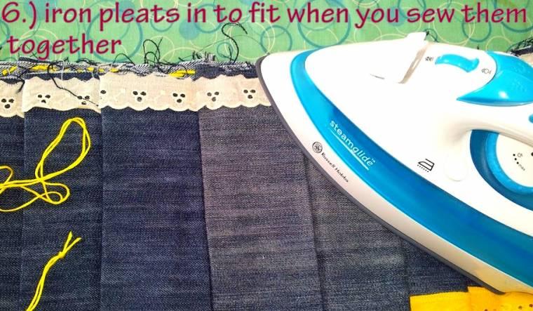 Old Jeans New Skirt: Creative Mondays Blog Hop