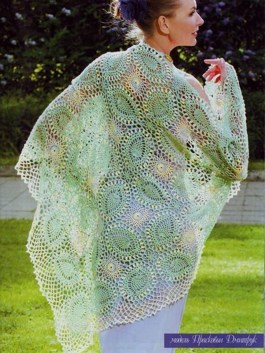 Irish crochet &: CROCHET SHAWL