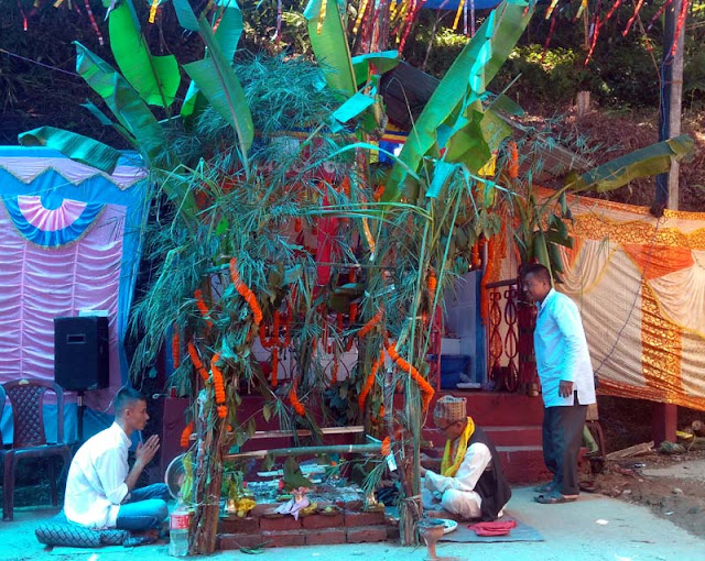 Vishwakarma Puja 2018 at Trisuley fatak Mungpoo