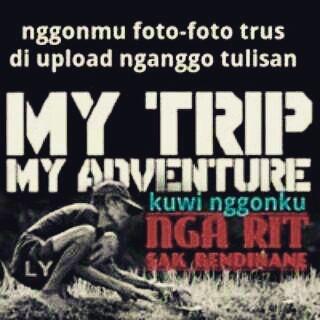 DP BBM Sindiran My Trip My Adventure