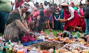 Festejo de la Pachamama