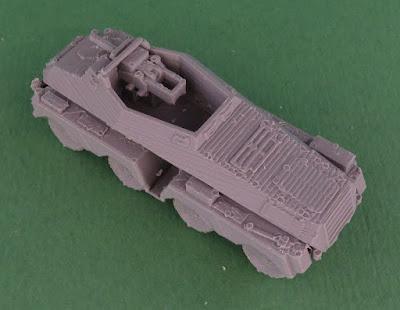 Schwerer Panzerspähwagen (75 mm) Sd Kfz 233 picture 3