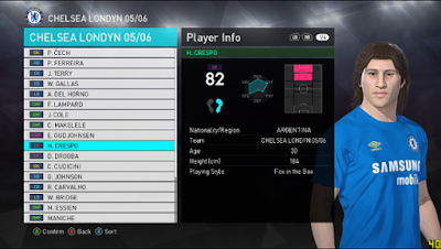 PES 2018 Classic Patch by FreshKiller0 Season 2005/2006