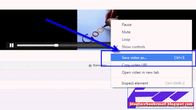 cara download video facebook ke komputer
