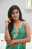 Actress Eesha Latest Pos in Green Floral Jumpsuit at Darshakudu Movie Teaser Launch .COM 0068.JPG