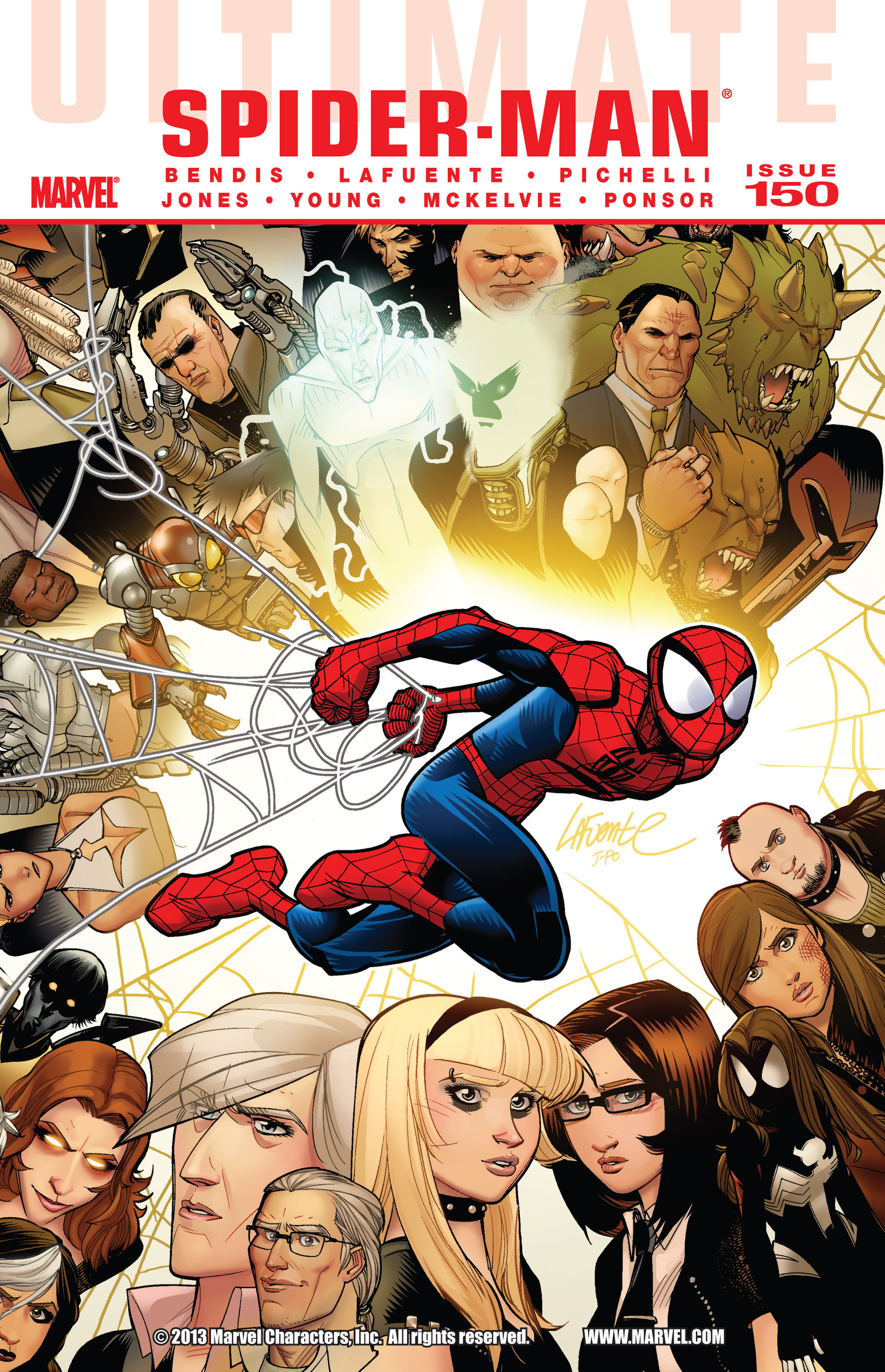 Read online Ultimate Spider-Man (2009) comic -  Issue #150 - 1