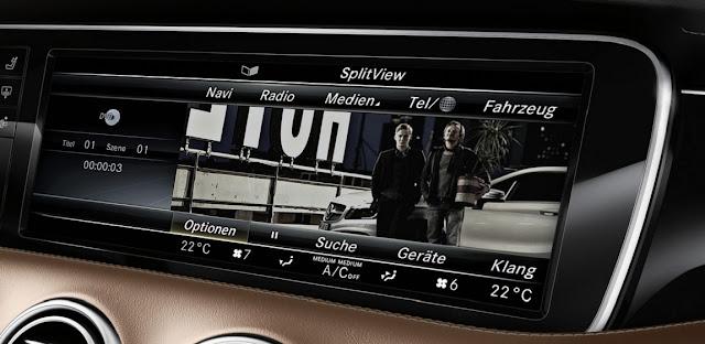 Mercedes S500 4MATIC Coupe 2018 sử dụng Hệ thống giải trí tiên tiến và hàng đầu của Mercedes hiện nay