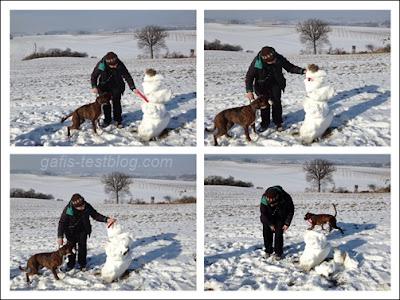 Amy und ich und der Schneemann