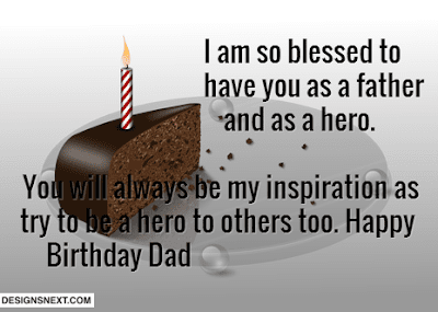 Happy Father's day wishes for father:  i am so blessed to have you as a father and as a hero