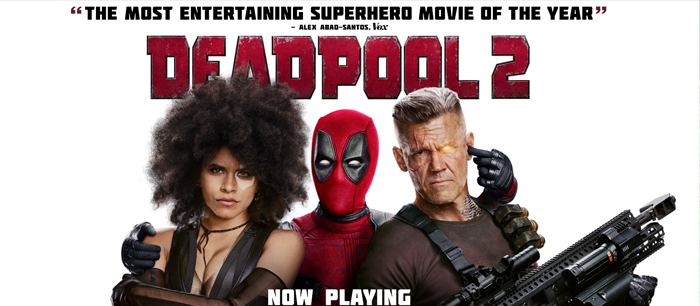 LATEST NEWS - Deadpool 2 Is Out for Free Onine Streaming!